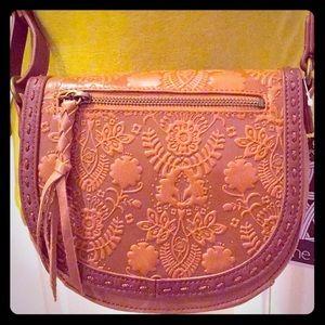 🆕 ONLY 1! The Sak Floral Embossed Leather Bag